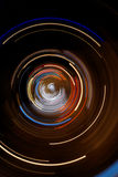 Abstract lights and speed composition Royalty Free Stock Images