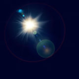 Abstract lights. Sun and festive backgrounds for your design Royalty Free Stock Photography
