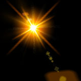 Abstract lights. Sun and festive backgrounds for your design Stock Images