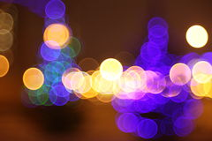 Abstract lights, tears in eyes Royalty Free Stock Image