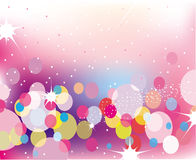 Abstract lights vector background Stock Images