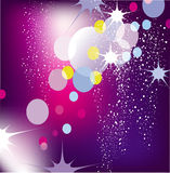 Abstract lights vector background Royalty Free Stock Image