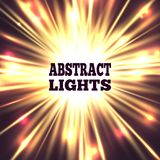 Abstract lights vector background Stock Image