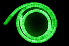 Abstract ligth technology background. Abstract ligth technology on black  background Royalty Free Stock Images