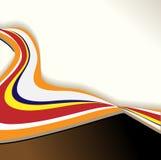 Abstract lijnenmalplaatje Stock Fotografie
