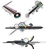 abstract lijnenpatroon vector illustratie