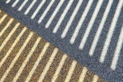 Abstract lijnpatroon van licht en schaduwen Royalty-vrije Stock Foto