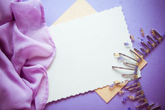 Abstract lilac background Stock Photo