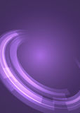 Abstract lilac background Rings of Jupiter square format. Advertising flyer party design elements. Purple background with elegant graphic blur bright light Royalty Free Stock Images