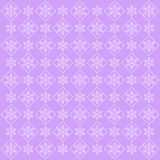 Abstract lilac christmas background with snowflakes Stock Photo