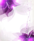 Abstract Lilac Flowers Royalty Free Stock Photo