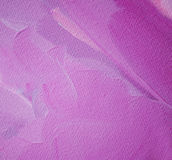 Abstract lilac painting by oil on canvas, illustration, backgrou Royalty Free Stock Photo