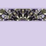 Lilac streep met naden Royalty-vrije Stock Foto's