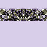 Lilac stripe with seams Royalty Free Stock Photos