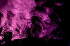 Abstract lilac smoke Weipa stock image