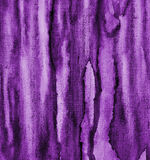 Abstract lilac watercolor on paper texture as background Stock Image