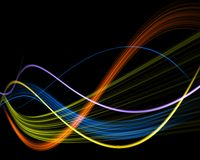 Abstract line Royalty Free Stock Photos
