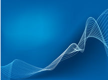 Abstract Line art background,  Royalty Free Stock Photos