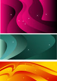 Abstract Line art background Stock Images