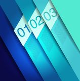 Abstract line background. Design template Stock Images