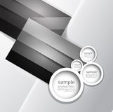 Abstract line background. Design template Royalty Free Stock Photos