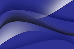 Abstract line and curve blue background Stock Images