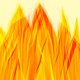 Abstract line fire background. Abstract yellow red backdrop or pattern Stock Photography