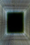 Abstract line frame and black hole. Abstract background created by convergent lines producing  'long' 3D  tunnel and black hole Stock Image