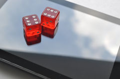 Abstract on-line gambling Royalty Free Stock Photos