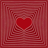 Abstract line heart love symbol background. Eps10 Royalty Free Stock Image