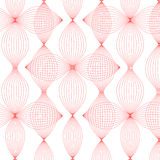 Abstract line of red background Royalty Free Stock Photo