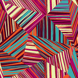 Abstract line seamless pattern. Tiled geometric background Stock Image