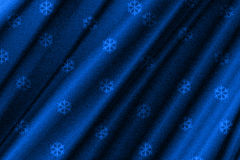 Abstract line snowflake blue background Royalty Free Stock Images