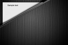 Abstract line wavy black and white background Royalty Free Stock Photo