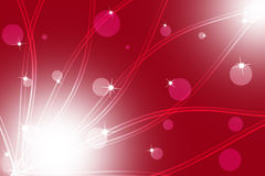 Abstract line wavy red background Royalty Free Stock Images