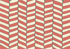 Abstract line zigzag patterns background. Red and white design. Stock Image