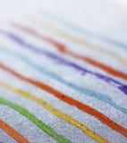 Abstract lineair die ontwerp, macro van pastelkleurlijnen wordt geschoten Royalty-vrije Stock Foto