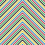 Abstract lineair naadloos patroon Stock Afbeelding
