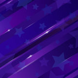 Abstract linear background with stars for design Royalty Free Stock Photos