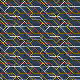 Abstract linear pattern and cover backdrop Royalty Free Stock Photos