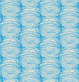 Abstract linear pattern. Doodle design Royalty Free Stock Image