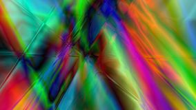 Abstract Linear Prism Background. Colorful abstract prism background based on lines in 4K resolution Stock Photos