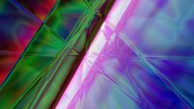 Abstract Linear Prism Background. Colorful abstract prism background based on lines in 4K resolution Stock Photography