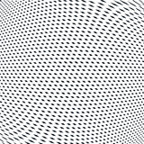 Abstract lined background, optical illusion style. Chaotic lines Stock Photo