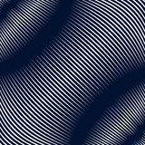 Abstract lined background, optical illusion style. Chaotic lines Stock Images