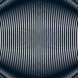 Abstract lined background, optical illusion style. Chaotic lines Royalty Free Stock Photography
