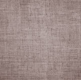 Abstract linen beige fabric texture as background Royalty Free Stock Photography