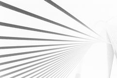 Abstract Lines. An abstract lines pattern based on a modern bridge design Stock Photography