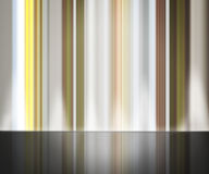 Abstract Lines Background with Reflection Royalty Free Stock Photo