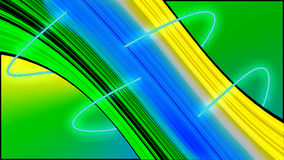 Abstract Lines Design. Abstract Vortex Design with colourful background Royalty Free Stock Photo